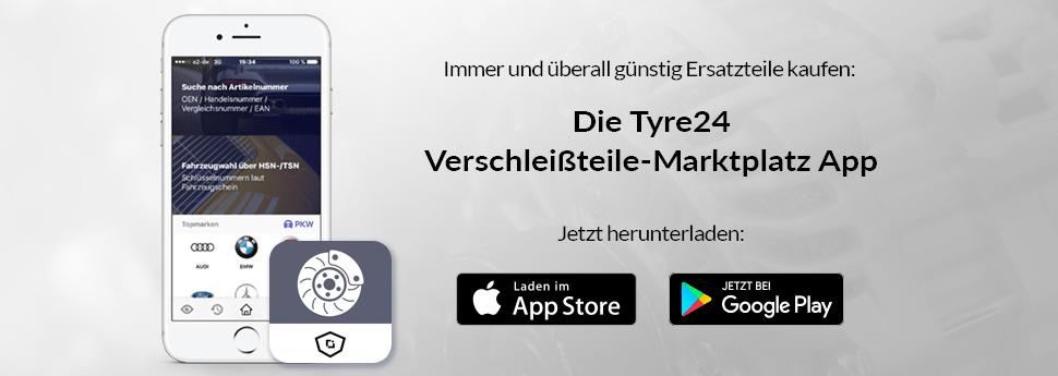 Verschleißteile-Marktplatz App